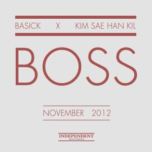 "Album artfo Basick's album ""Boss"""