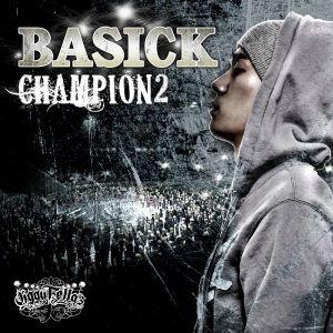 """Album art for Basick's album """"Champion"""""""