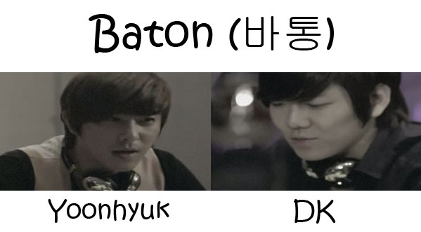 "The members of December in the ""Baton"" MV"