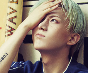 Beast's Hyunseung promotional picture for Ordinary.