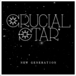 "Album art for Crucial Star's album ""New Generation"""
