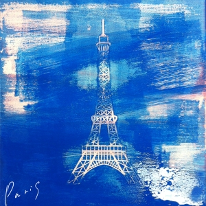 "Album art for Crucial Star's album ""Paris"""