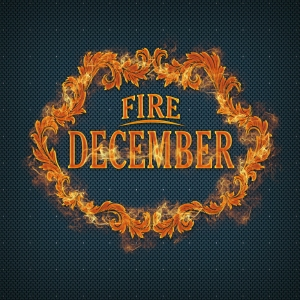 "Album art for December's album ""Fire"""