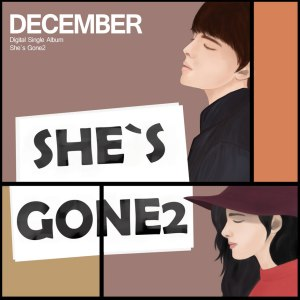 "Album art for December's alum ""She's Gone2"""