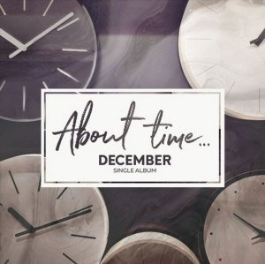 "Album art for DK (December)'s album ""About Time"""