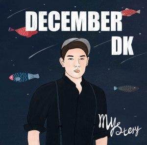 """Album art for DK (December)'s album """"Mystery"""""""