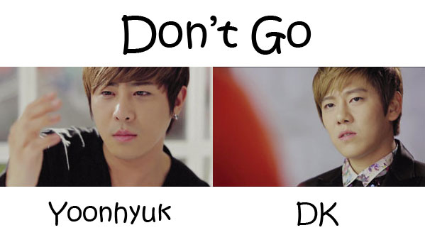 "The members of December in the ""Don't Go"" MV"