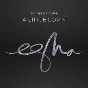 "Album art for eSNa's album ""A Little Lovin"""