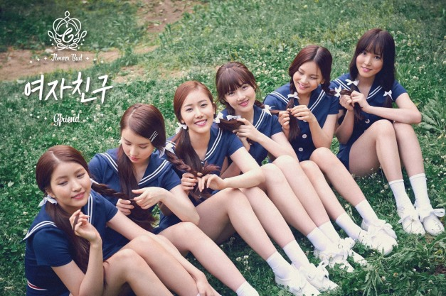"G.Friend's promotional picture for ""Flower Bud"""