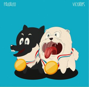 "Album art for Paloalto's album ""Victories"""