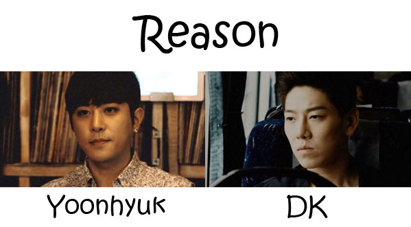 "The members of December in the ""Reason"" MV"