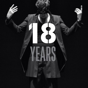"Album art for So Ji Sub's album ""18 Years"""