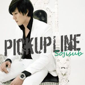 "Album art for So Ji Sub's album ""Pick Up Line"""