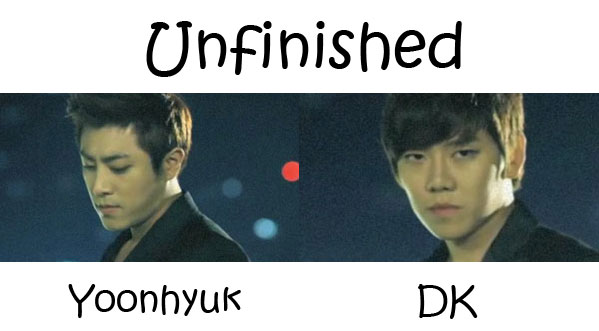 "The members of December in the ""Unfinshed"" MV"