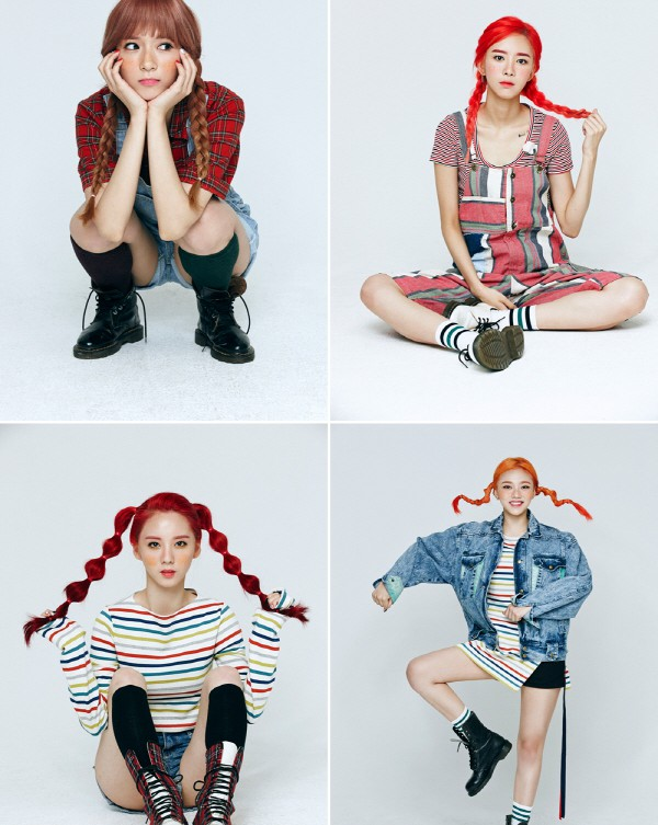"2Eyes' ""Pippi"" promotional picture."