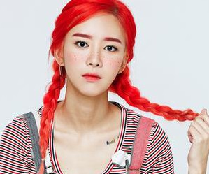 "2Eyes' Hyerin ""Pippi"" promotional picture."
