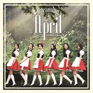 """Album art for April's album """"Dreaming"""""""