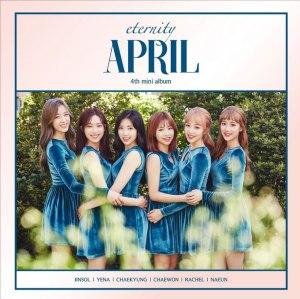 """Album art for April's album """"Eternity"""""""