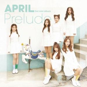 """Album art for April's album """"Prelude"""""""