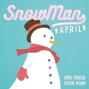 """Album art for April's album """"Snowman"""""""
