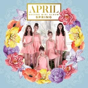 """Album art for April's album """"Spring"""""""