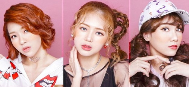 "LIME's promotional picture for ""Salang Salang"""