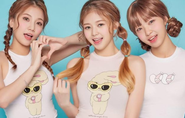 Lime three member line-up.