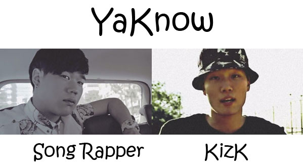 "The members of Coolkids in the ""YaKnow"" MV"