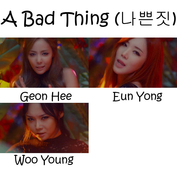 "The members of Purfles in the ""A Bad Thing"""