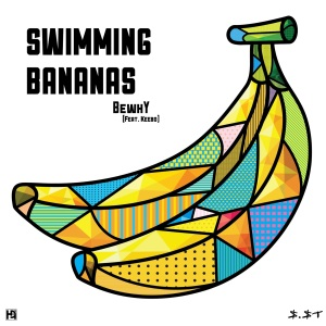 "Album art for BewhY's album ""Swimming Bananas"""