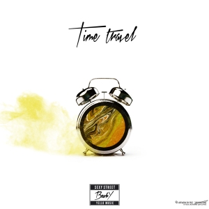 "Album art for BewhY's album ""Time Travel"""
