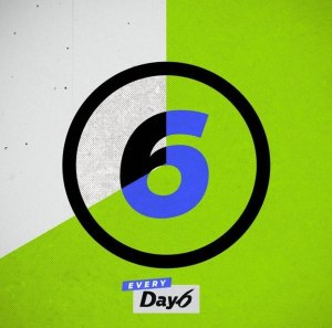 "Album art for Day6's album ""Every Day6 August"""