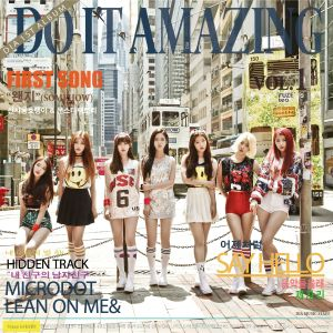 "Album art for DIA's album ""Do It Amazing"""