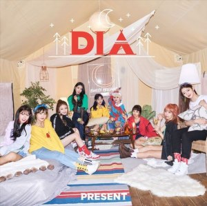 "Album art for DIA's album ""Present"""