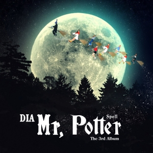 "Album art for DIA's album ""Spell"""