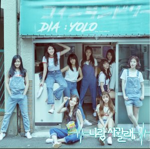 "Album art for DIA's album ""YOLO"""