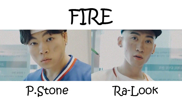 """The members of Noisy Boyz in the """"Fire"""" MV"""