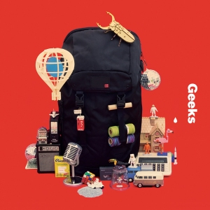 "Album art for Geeks's album ""Backpack"""