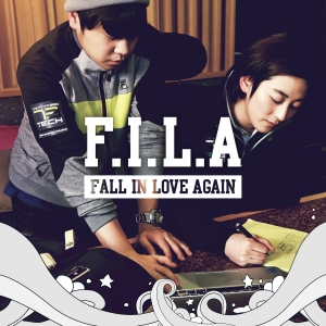 "Album art for Geeks's album ""F.I.L.A (Fall In Love Again)"""