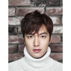 "Album art for Lee Minho's album ""The Day"""