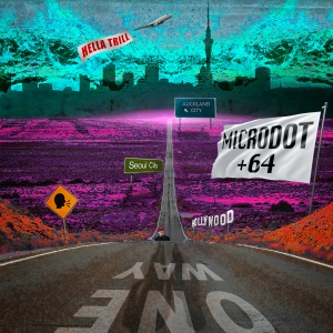 "Album art for Microdot's album ""+64"""