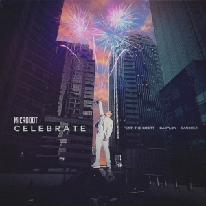"Album art for Microdot's album ""Celebrate"""