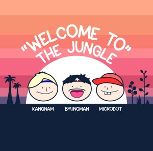 "Album art for Microdot's album ""Welcome To The Jungle"""