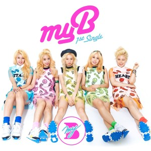 "Album art for MyB's album ""My Oh My"""