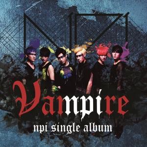 "Album art for NPI's album ""Vampire"""