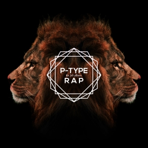 "Album art for P-Type's album ""Rap"""