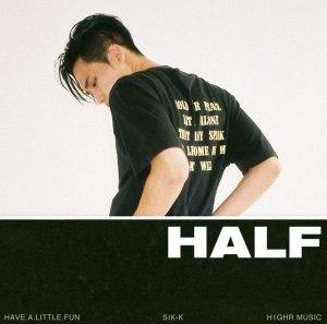 """Album art for Sik-K's album """"H.A.L.F (Have.A.Little.Fun)"""""""