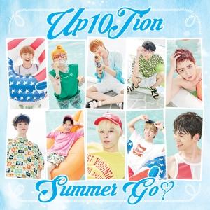 """Album art for Up10tion's album """"Summer Go"""""""