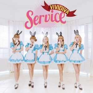 "Album art for Vividiva's album ""Service"""