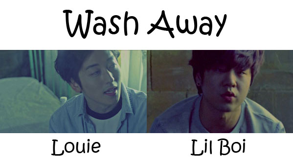"The members of Geeks in the ""Wash Away"" MV"